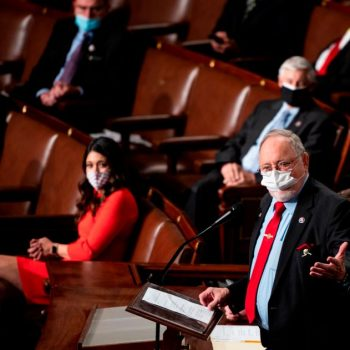 GOP Rep. Young of Alaska calls for bipartisanship while giving House Speaker Pelosi oath