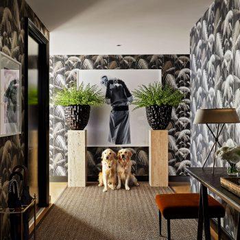 Inside Fashion Designer Brian Atwood's Vibrant Apartment 64 Floors Above Manhattan