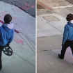 LAPD released these surveillance images of a suspect in a fatal hit-and-run crash in downtown Los Angeles Jan. 16, 2020.