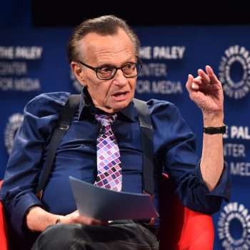 Larry King, 87, hospitalized in L.A. with COVID-19