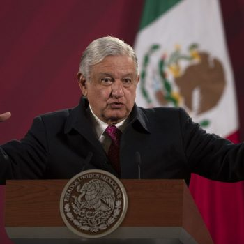 Mexico's president says he's tested positive for COVID-19
