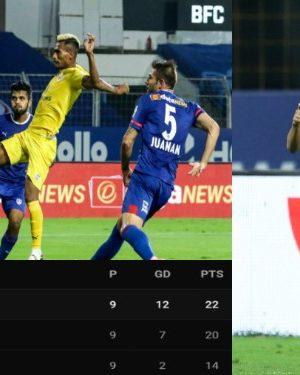 Mumbai City FC beat Bengaluru FC by 3-1 goal highlights
