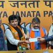 Santipur TMC MLA Arindam Bhattacharya joins BJP in Delhi