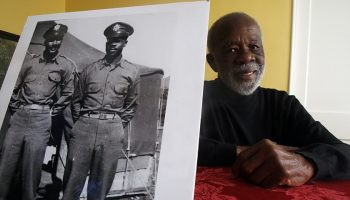 Theodore 'Ted' Lumpkin, a member of the WWII Tuskegee Airmen, dies at 100