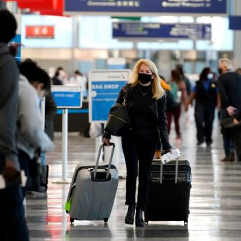 U.S. suspending entry of most foreign travelers from South Africa, Brazil, U.K., much of Europe starting Tuesday due to COVID-19