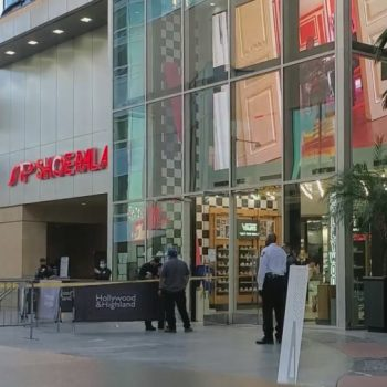 1 wounded in shooting at Hollywood & Highland mall shoe store; suspect in custody
