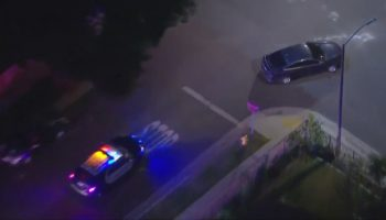 Authorities in pursuit of driver in Vernon area