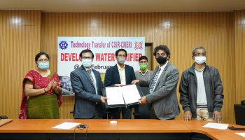 CMERI transfer indigenously developed Water Purification Technologies