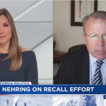 Former California GOP chairman talks about what is needed to win a governor recall election