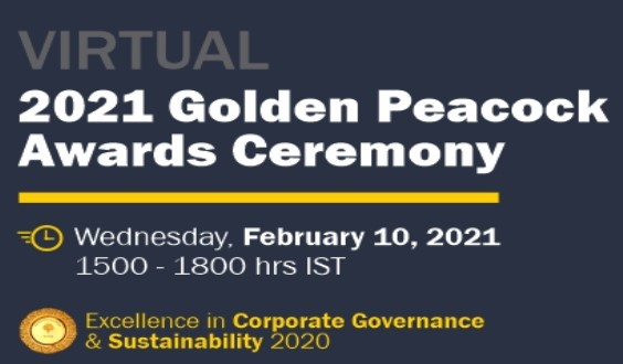 Laurus Labs wins Golden Peacock Award for Excellence in Corporate Governance 2020