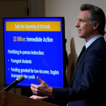 Gov. Newsom and teacher unions clash over school reopening plans in California
