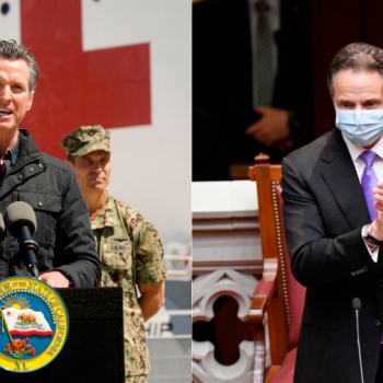Hailed for leadership when pandemic started, Newsom and Cuomo face growing criticism