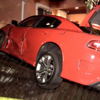Hit-and-run driver sought in South L.A. crash that sent vehicle into nearby home