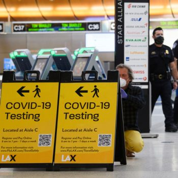 L.A. County now has 8 confirmed cases of U.K. coronavirus variant and officials are warning against travel