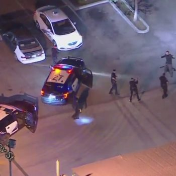 Pursuit of DUI suspect who allegedly stole Burbank police parking enforcement car ends in Sun Valley