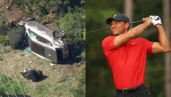 Tiger Woods hospitalized after rollover crash in Palos Verdes; 'jaws of life' used to extricate him