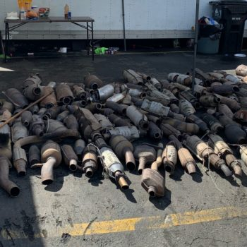 19 arrested, $750K worth of catalytic converters recovered amid spike in thefts in L.A. County