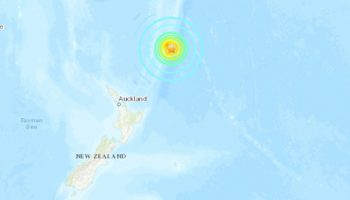 8.1 earthquake among 3 powerful temblors to strike off New Zealand; Hawaii under tsunami watch