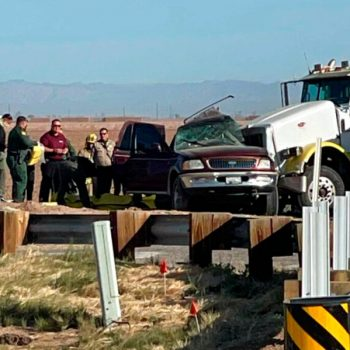 9 migrants from SUV have major injuries after Imperial County crash that killed 13: CHP