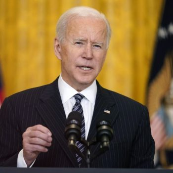 Biden says migrant families apprehended at border 'should all be going back'