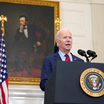 Biden urges Senate to pass gun control laws after 2 mass shootings alter his pandemic-relief tour
