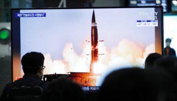 Biden warns of response following North Korea's latest missile test