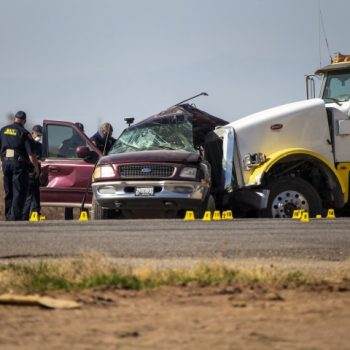 Cause of Imperial County crash that killed 13 remains a mystery; Officials probe why 27 people were in SUV