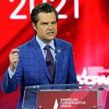 GOP Rep. Matt Gaetz, a close Trump ally, investigated by DOJ over sexual relationship