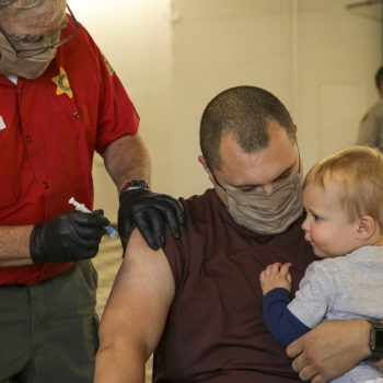 L.A., Orange, San Bernardino counties show improved COVID-19 rates;  official tier moves depend on vaccinations