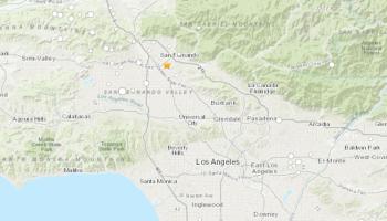 Magnitude 2.6 earthquake strikes Los Angeles