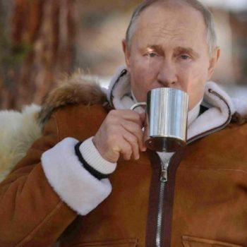 Russian President Vladimir Putin in the Siberian Federal District - Alexei Druzhinin/TASS
