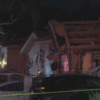 2 men hospitalized following large house explosion in Valley Glen