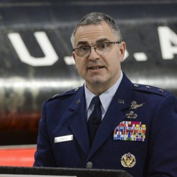 A US Air Force general is facing court-martial for the first time ever. He has been charged with sexual assault.