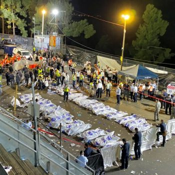 At least 44 killed in stampede at religious festival in Israel
