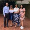 Mandeep Sharma and his family
