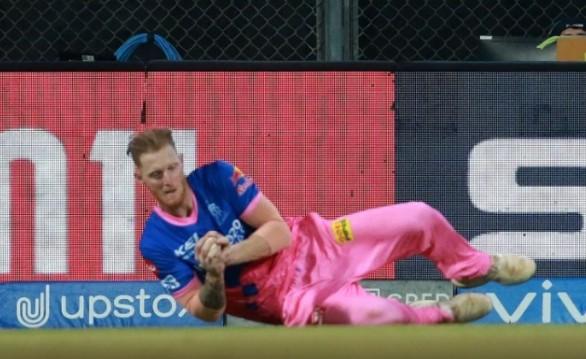 Ben Stokes of Rajasthan Royals left IPL 2021 following finger injury
