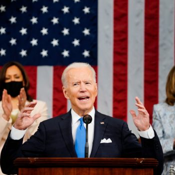 Biden says U.S. 'rising anew' in 1st address to Congress, calls for $1.8 trillion investment in families and education