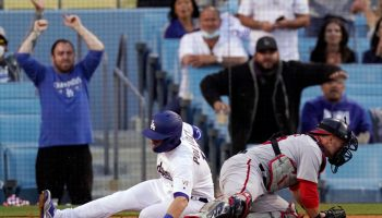 Five-run second inning propels Dodgers to 9-5 win over Nationals