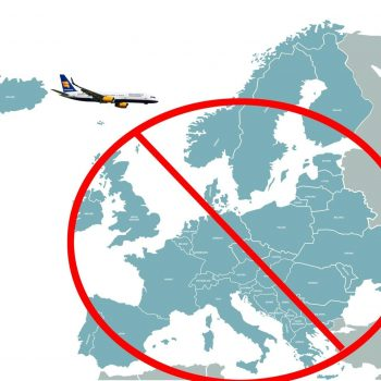 Icelandair is warning travelers they can't use the country as a backdoor into Europe