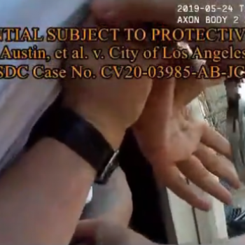 LAPD bodycam video shows officers arresting Black man at his Hollywood home during search for white suspect