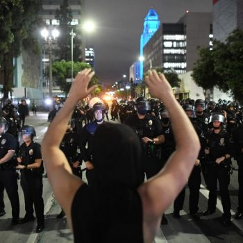 LAPD investigators are rejecting most complaints against officers from summer protests; others still under review