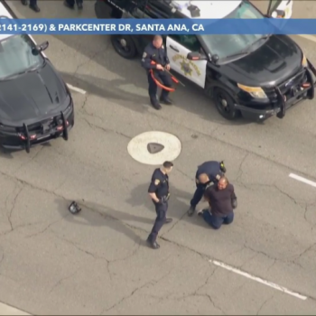 Lengthy CHP pursuit of suspected DUI driver ends in Santa Ana