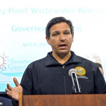 Officials trying to prevent 'catastrophic' collapse of Florida wastewater reservoir