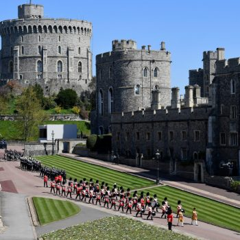Prince Philip's funeral: Hundreds of troops marching into Windsor Castle