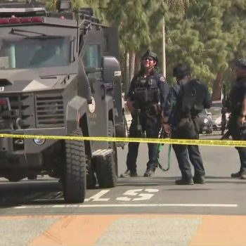Suspect in custody after reports of man with rifle prompt evacuation of Sylmar school
