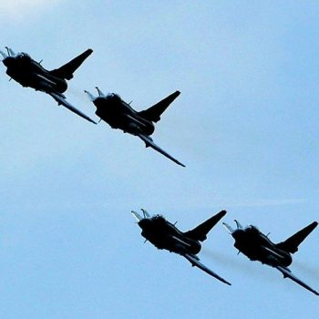 Taiwan: 'Record number' of China jets enter airspace