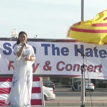 Westminster officials organize rally, concert in Little Saigon to combat spike in hate crimes against Asian-Americans