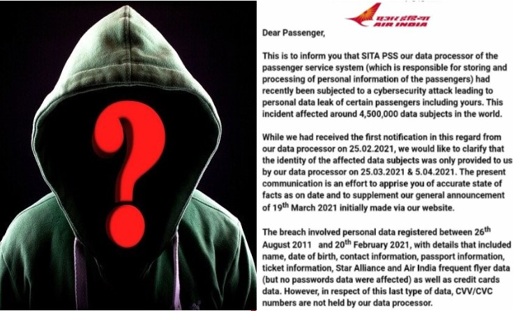 Major Cyber Attack on Air India Credit Card info stolen