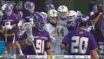 Catamounts beat the Great Danes 15-10 America East title