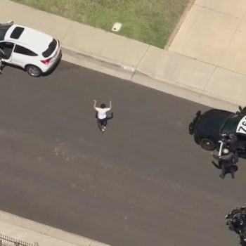 Driver in custody after pursuit of hit-and-run suspect ends in Chino area